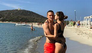 Laura Słowiak to piękna WAGs. Piotr Zieliński strzelił gola w meczu z Chile