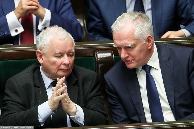 Jarosław Kaczyński i Jarosław Gowin nie mają umowy koalicyjnej na nadchodzącą kadencję