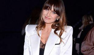 Anna Lewandowska w wiosennej stylizacji