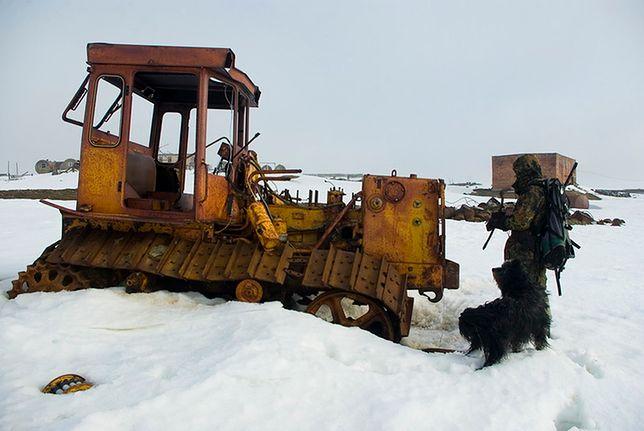 Porzucone pojazdy w Arktyce