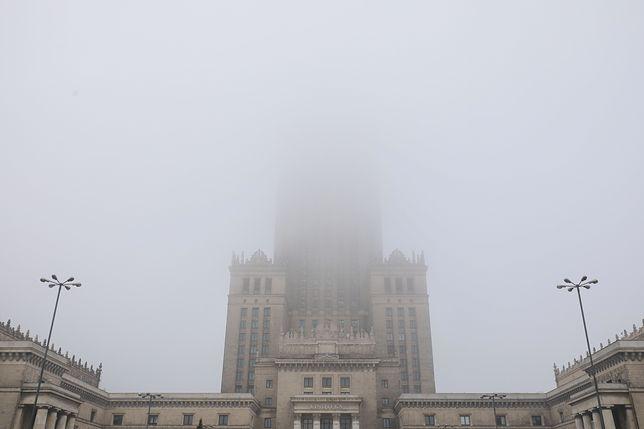 Smog w Warszawie w środę 22 stycznia 2020 r.