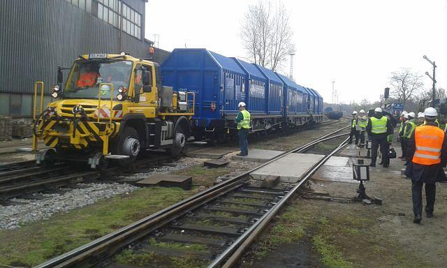Unimogi obsłużą pociągi PKP Intercity