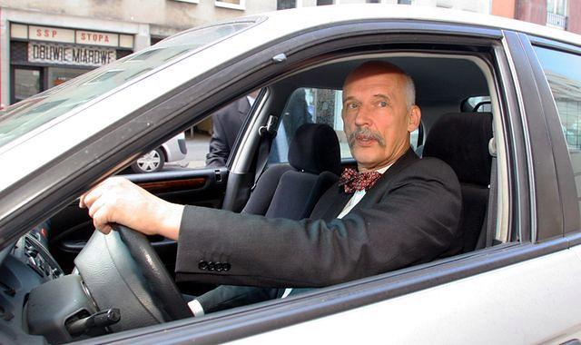 Janusz Korwin-Mikke z uchylonym immunitetem. Odpowie za przekroczenie prędkości