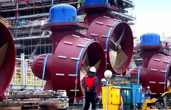 Statek-gigant o krok od ukończenia. Co potrafi ta niesamowita maszyna?