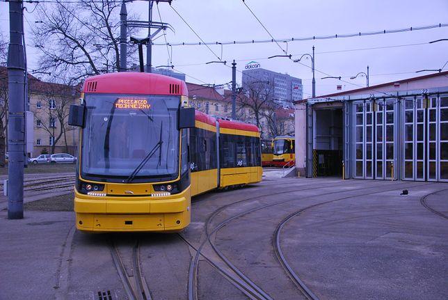 Nowy tramwaj typu 134N Jazz już w Warszawie