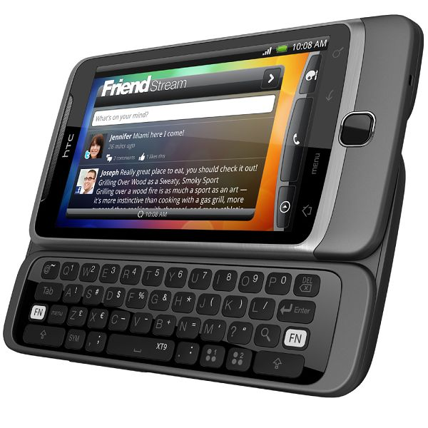 HTC Desire Z - jeden z popularniejszych i ostatnich smartfonów z fizyczną klawiaturą