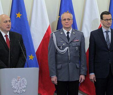 Komendant Marek Fałdowski podał się do dymisji.