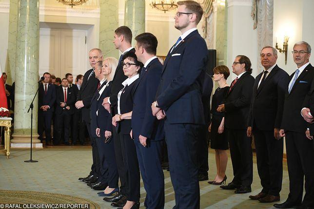 Nowi ministrowie - zmiana składu Rady Ministrów