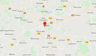 Wypadek na S7 koło Grójca. Przewróciła się cysterna z olejem rzepakowym