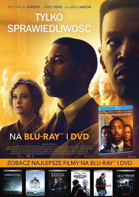 TYLKO SPRAWIEDLIWOŚĆ  Premiera DVD i Blu-ray już 14 października!