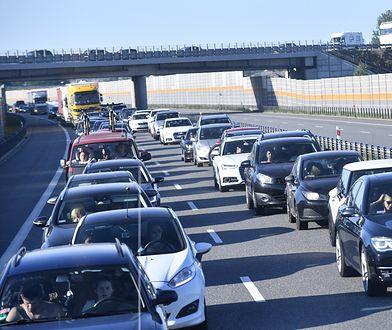 Poważne utrudnienia dla kierowców na  A1