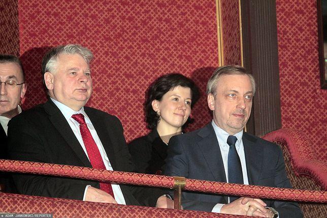 Senat. Bogdan Borusewicz i Bogdan Zdrojewski.