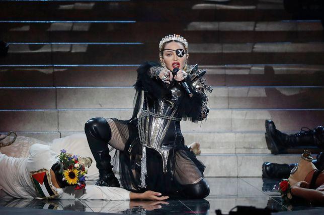 Madonna podczas finału Eurowizji 2019