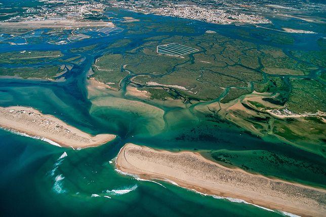 Laguna Ria Formosa zaczyna się u brzegów Faro i ciągnie się na długości 60 km