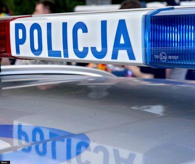 Zielona Góra. Policjanci zostali zaatakowani podczas kontroli drogowej. Wszczęto obławę.