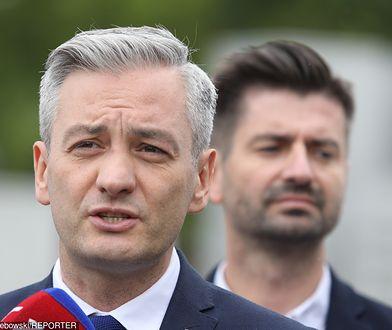 Wybory parlamentarne 2019. Robert Biedroń i Krzysztof Śmiszek