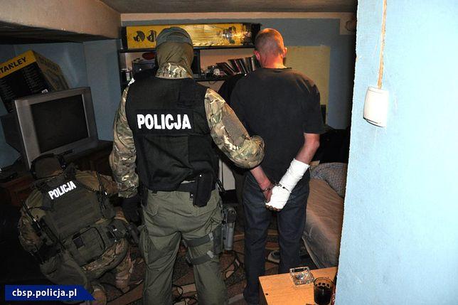 Policjanci Centralnego Biura Śledczego