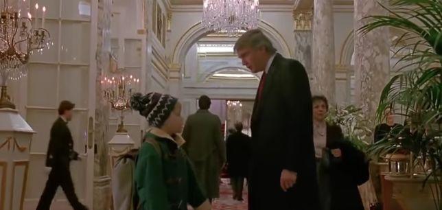 Donald Trump wystąpił gościnnie w świątecznym klasyku