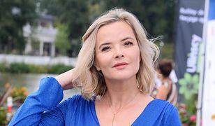 Monika Zamachowska pokazała się w wystrzałowej kreacji. Komentarz fanki – bezcenny