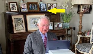 Książę Karol i tajemnicze zdjęcie w tle