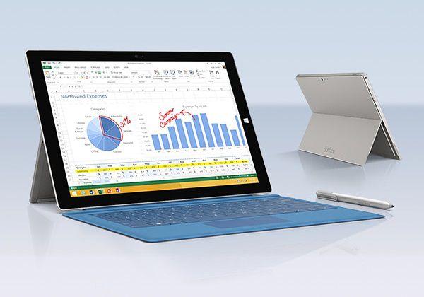 Jeszcze lepszy Surface Pro 3