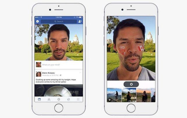 Facebook chce być jak Snapchat - nowa funkcja będzie przydatna czy irytująca?