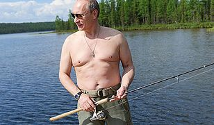 Władimir Putin na rybach