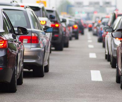 Kierowcy jadący koło Warlubia muszą liczyć się z utrudnieniami