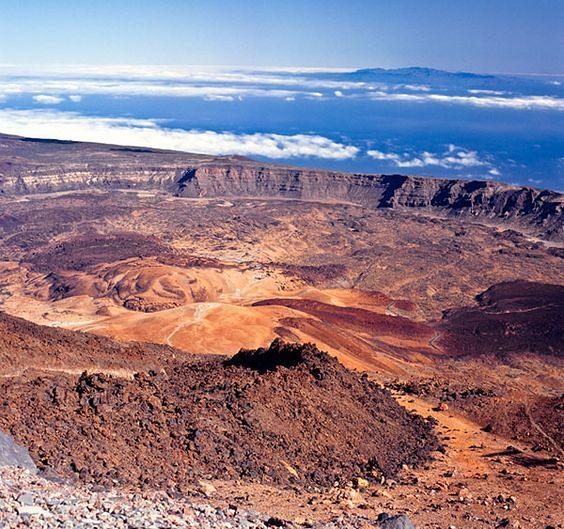 Pico Del Teide zdobyto po raz pierwszy w 1582 roku