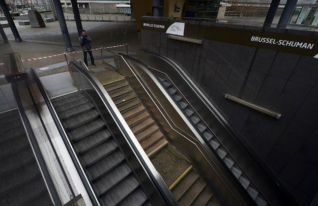 Stacja metra w Brukseli zamknięta z powodu zagrożenia terrorystycznego