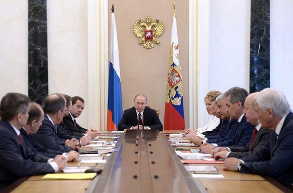 Zebranie Rady Bezpieczeństwa Federacji Rosyjskiej