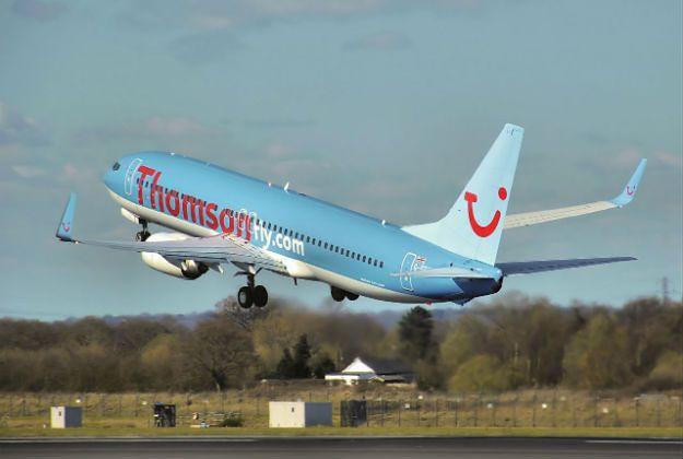 Brytyjski samolot musiał manewrować, by uniknąć trafienia pociskiem nad Egiptem