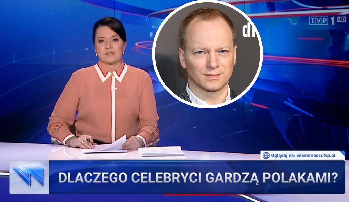 """Niedawny wywiad Macieja Stuhra stał się tematem głównego wydania """"Wiadomości"""""""