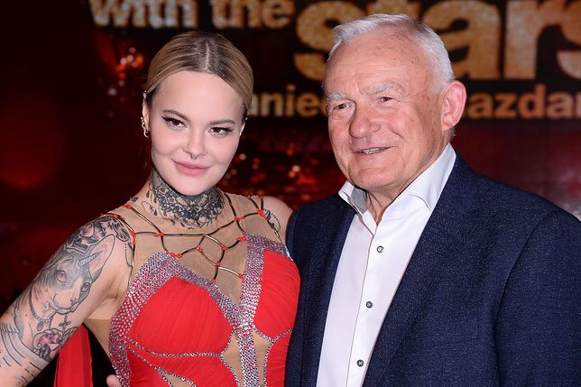 Monika Miller z ukochanym dziadkiem Leszkiem Millerem