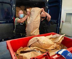 Bydgoszcz. Z dymem poszło ponad 280 kg narkotyków