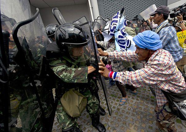 Protest rolników w Tajlandii