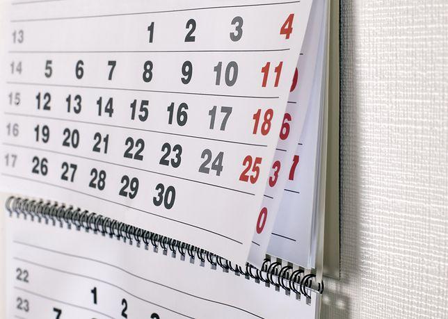 W przyszłym roku będzie znacznie mniej dni wolnych niż w obecnym