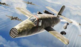 Wunderwaffe. Bachem Ba 349 Natter – samolot, który rozpadał się w powietrzu