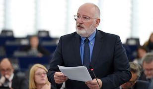 Timmermans: życzeniem Komisji jest gwarancja niezależności wymiaru sprawiedliwości w Polsce
