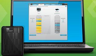 WD SmartWare - kopie zapasowe na dysku lub w chmurze