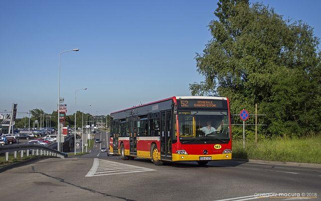Bielsko-Biała. Młody pasażer znalazł ryzykowny sposób na podróż.
