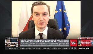 KRS. Leszek Mazur odwołany. Kaleta: to pokazuje transparentność i pluralizm