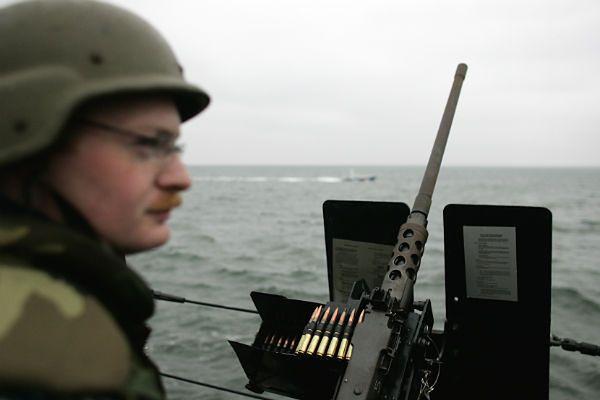 Amerykański niszczyciel wyposażony w system Aegis