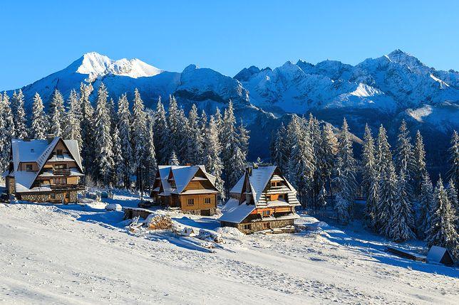 Bukowina Tatrzańska zimą