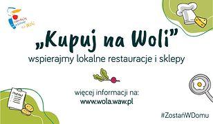 """Koronawirus w Warszawie. Akcja """"Kupuj na Woli"""". Wsparcie sklepów i restauracji"""