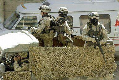 Polscy żołnierze w Iraku pod ostrzałem