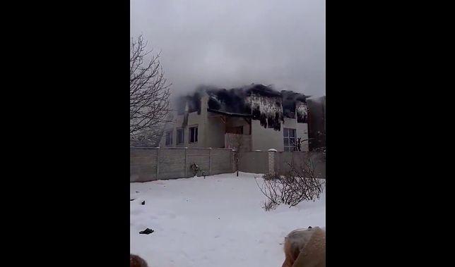 Ukraina. Dramatyczne skutki pożaru w domu opieki nad seniorami