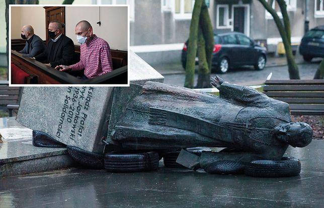 Gdańsk. Proces ws. przewrócenia pomnika ks. Jankowskiego odroczony