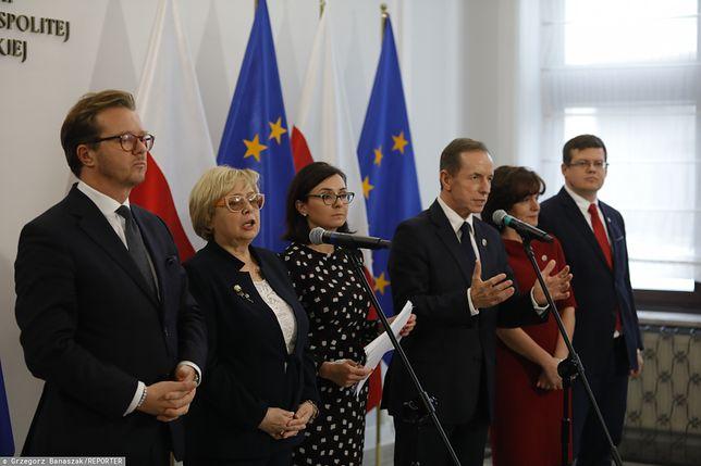 Wyrok TSUE ws. Polski. Narada w Senacie, obecna Małgorzata Gersdorf