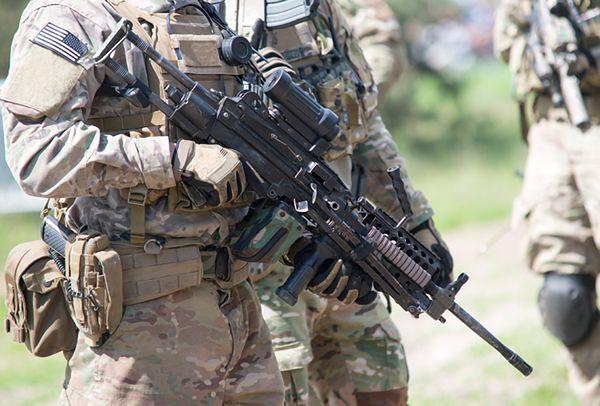 Amerykańscy żołnierze wylądowali na lotnisku w Goleniowie